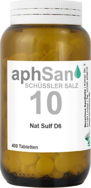 APHSAN SCHÜSSLER 10 NAT SULF D6  (8020143) Bild-01