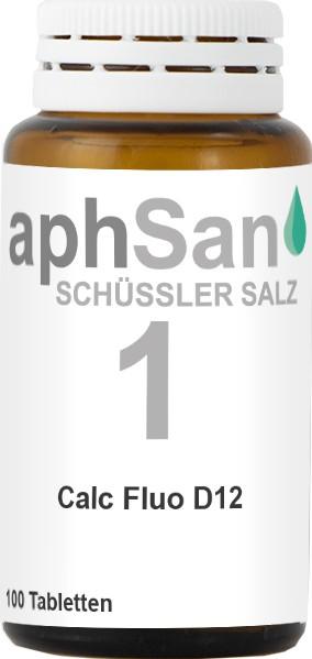 APHSAN SCHÜSSLER 1 CALC FLUO D12  (8019921) Bild-01