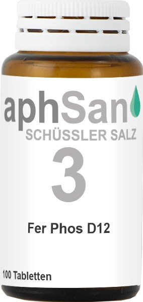 APHSAN SCHÜSSLER 3 FER PHOS D12  (8019967) Bild-01