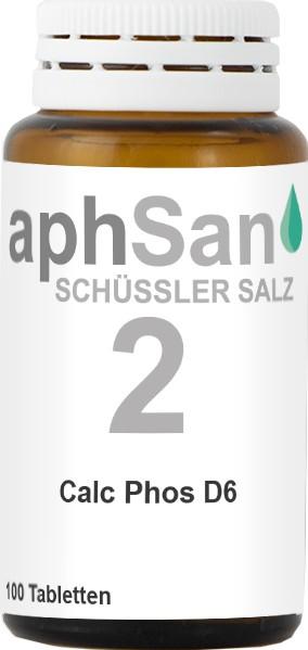 APHSAN SCHÜSSLER 2 CALC PHOS D6  (8019944) Bild-01