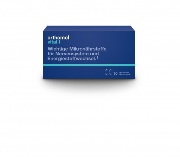 Orthomol Vital F 30 Tab/Kap