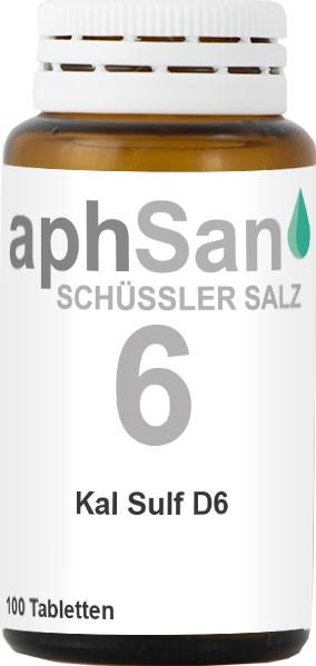 APHSAN SCHÜSSLER 6 KAL SULF D6  (8020031) Bild-01