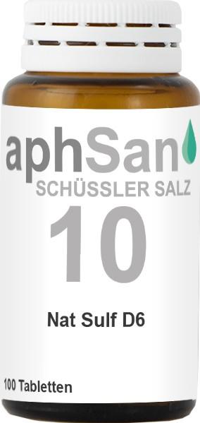 APHSAN SCHÜSSLER 10 NAT SULF D6  (8020137) Bild-01